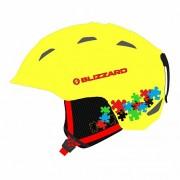 Шлем BLIZZARD S20 Demon Junior Neon Yellow/Colorfull Puzzles