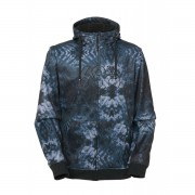 Толстовка  686 ICON BONDED ZIP FLEECE HOODY (gunmetal camo)