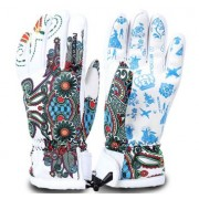 Перчатки Burtono white spring