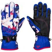 Перчатки Roxy 20-21 Jetty Mazarine blue mind jingle