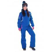 Комбинезон женский Snowheadquarter В-8691 (голубой)