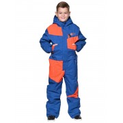 Комбинезон детский Snowheadquarter T-8951 Синий/оранжевый