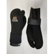 Перчатки Aquadiscovery 3 палые 7мм двойная обтюрация