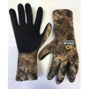Перчатки Aquadiscovery 5-палые корич. new 7мм