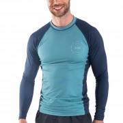 Гидромайка  JOBE RASH Guard Longsleeve MEN Vintage TEAL