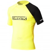Гидромайка  Mystic Event Rashvest Chest LOGO yellow