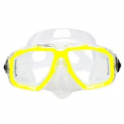 Маска Marlin Junior Yellow/Trans