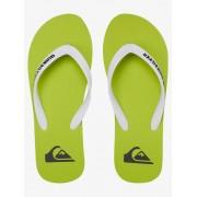 Шлепки Quiksilver SNDL BLK/Green/Green