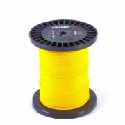 Линь Сарган 1.5 мм нейлон (100 кг на разрыв, жёлтый, цена за 1 м)