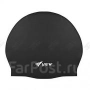 Силиконовая шапочка для бассейна VIEW TS V-31 Black