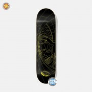 Скейтборд в сборе Footwork Tushev Fisheye Yellow/Black